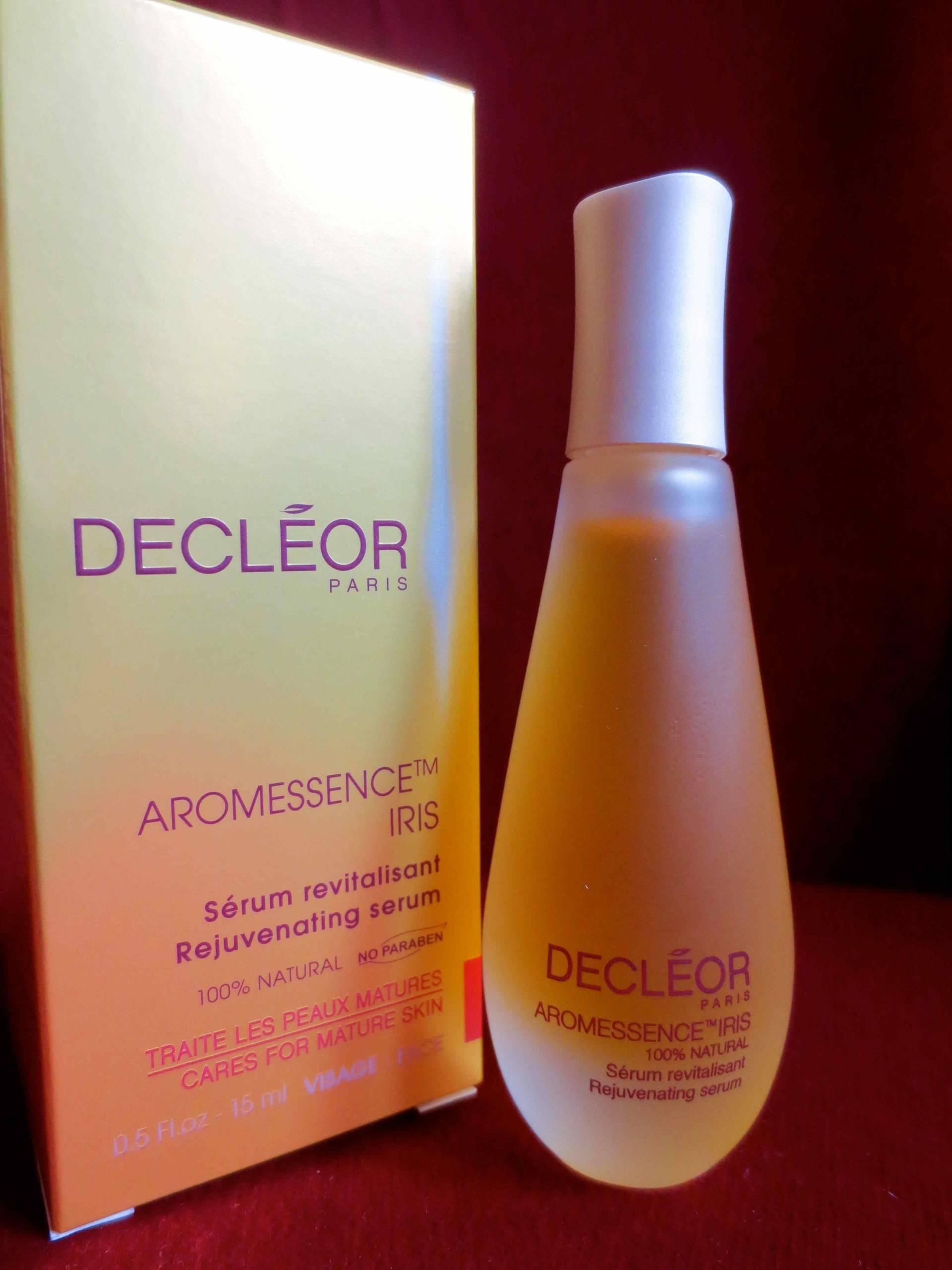 wondrous oil - Decléor Aromessence Iris