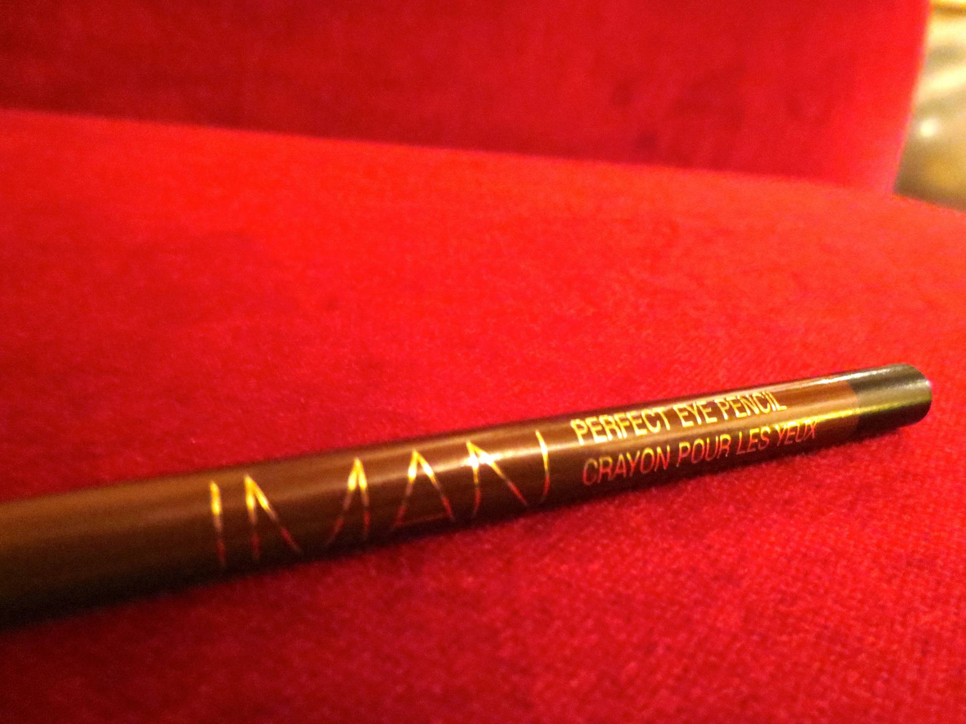 Iman Perfect Eye Pencil in Jet Black