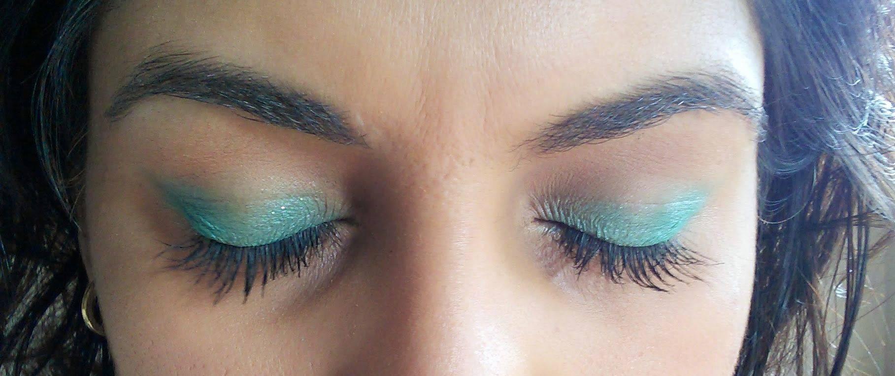 spring eyes - mac's aquadisiac shadow and dior's diorshow blackout