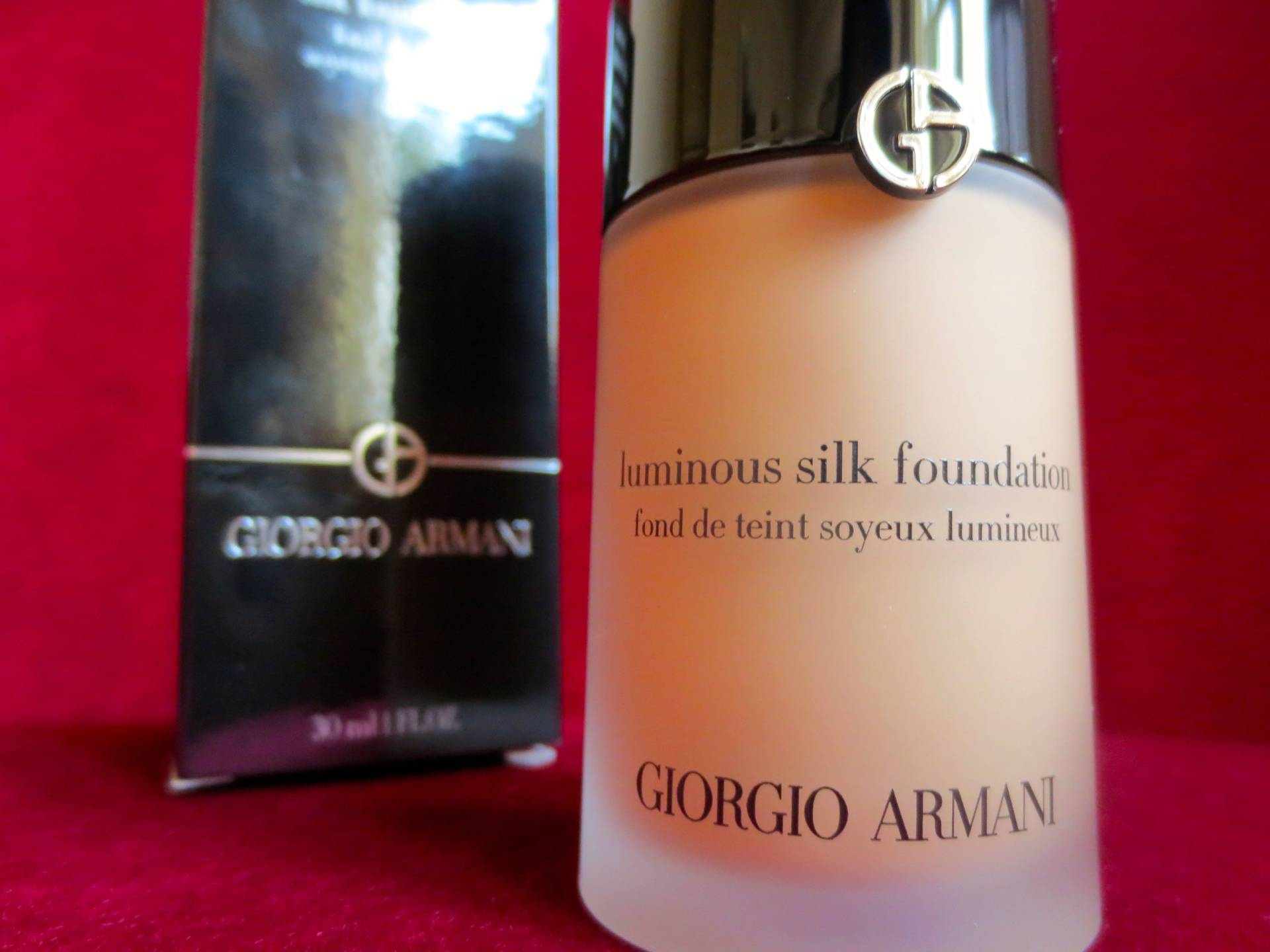 new skin thanks to armani beauty
