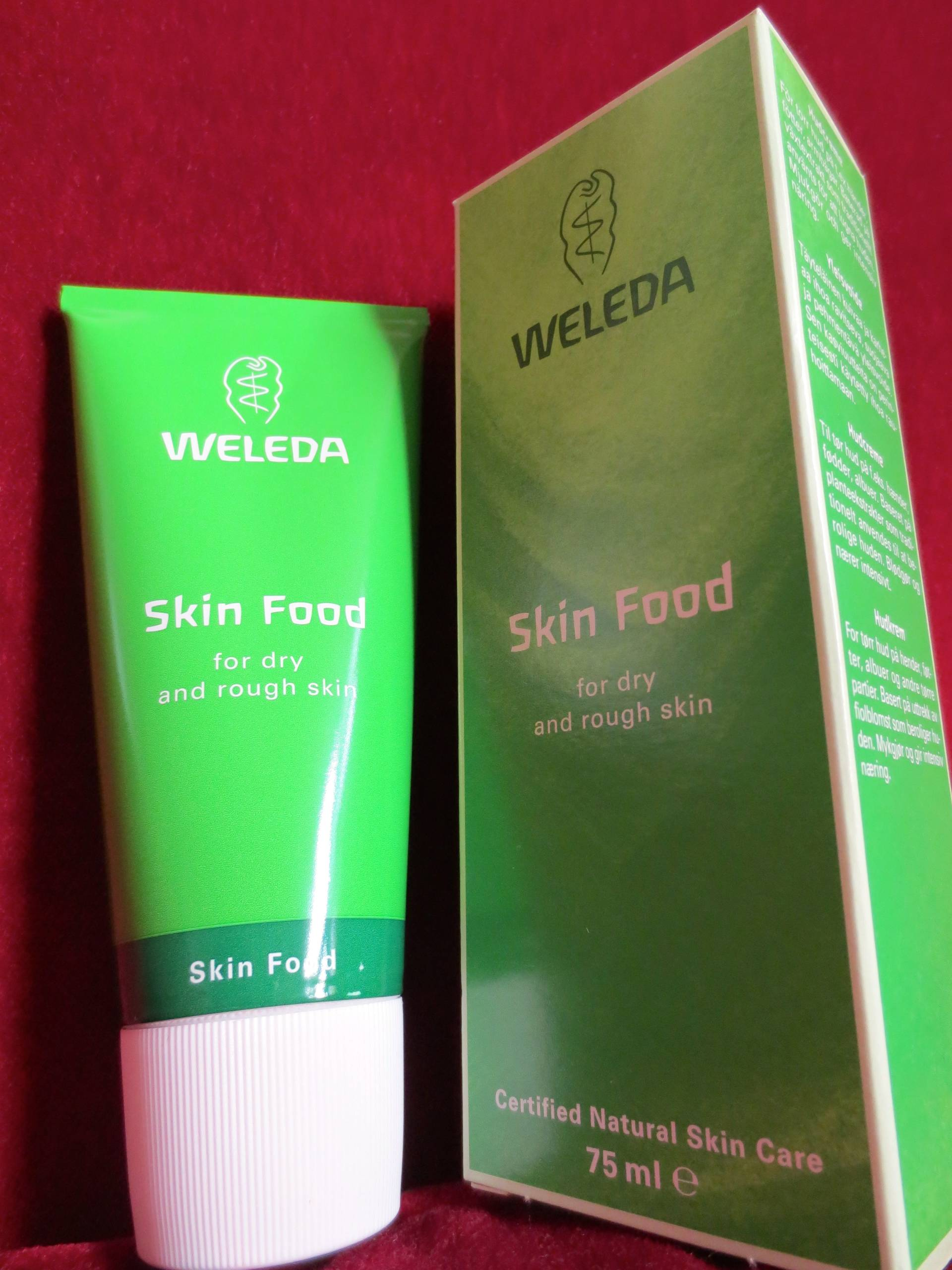 wholesome skin food from weleda