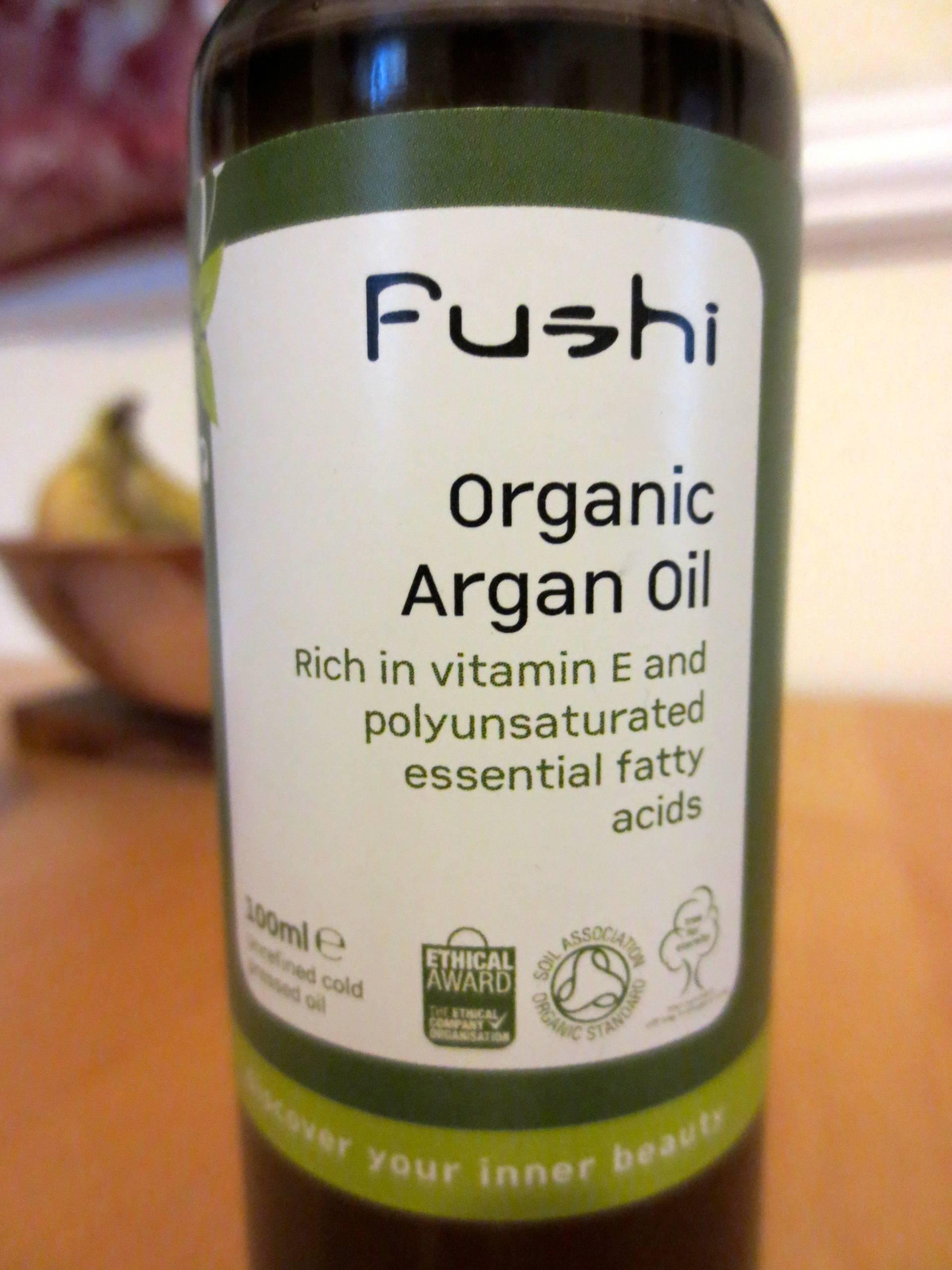 Fushi organic argan oil