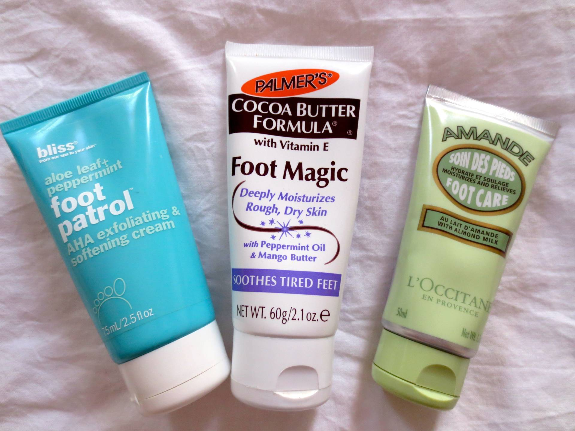 foot creams working their magic for summer