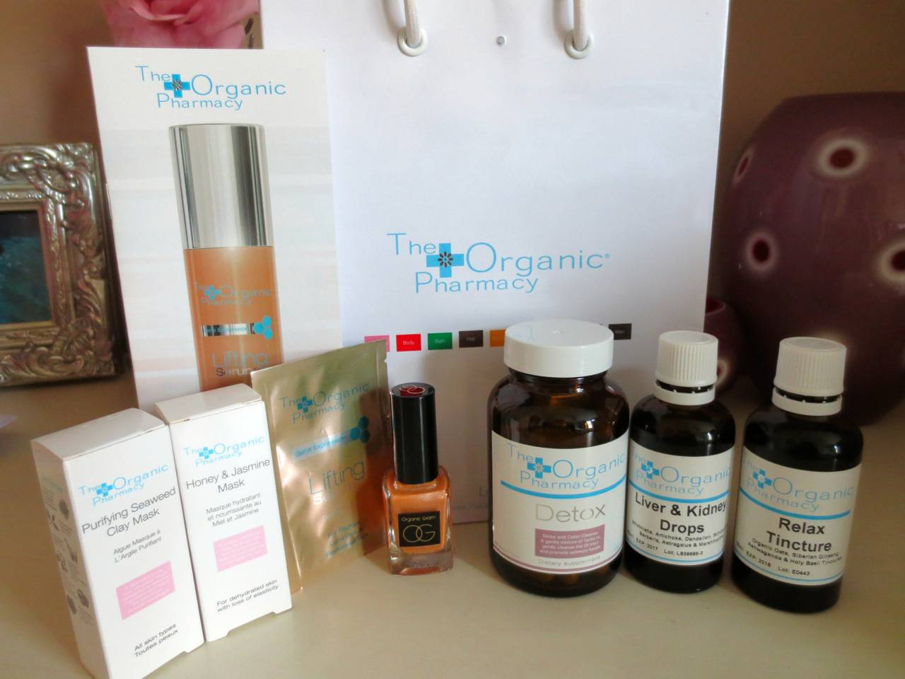 I'm on a 10-day detox with the Organic Pharmacy – better sleep, better skin, better mood are on the menu