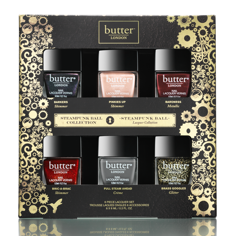 butter London steampunk ball nail lacquer set
