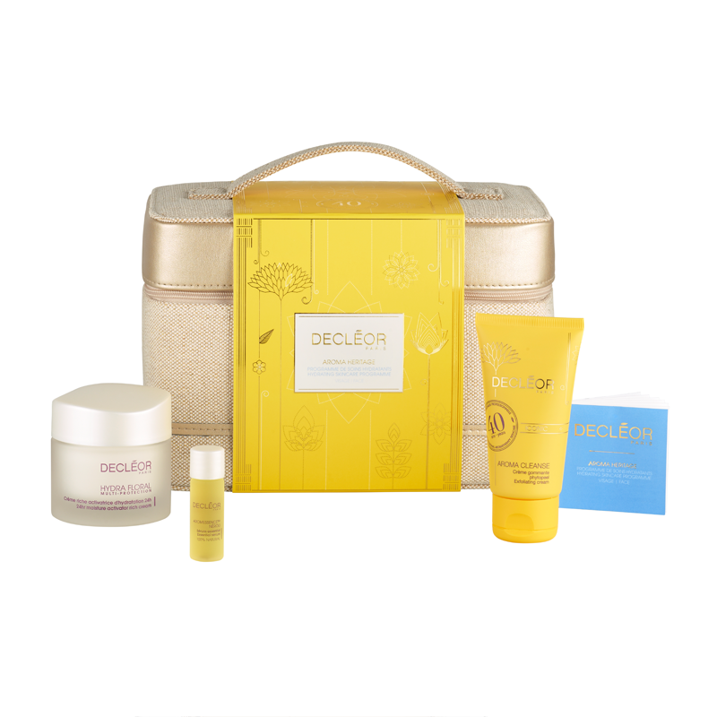 Decléor hydrating vanity case gift set