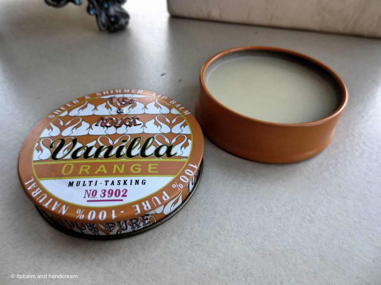 figs & rough vanilla orange lip balm