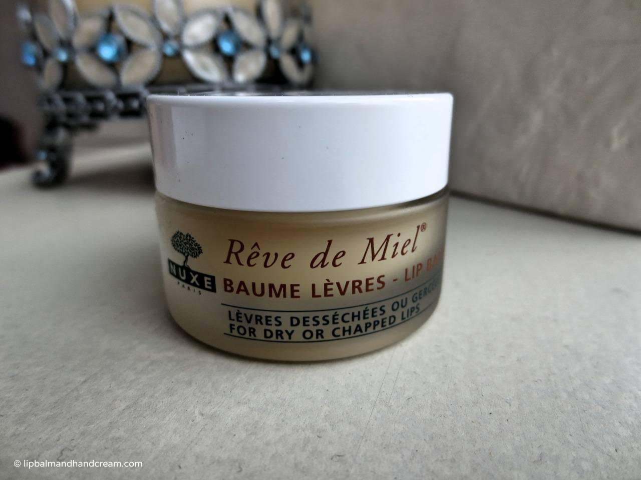 Nuxe's Rêve de Miel ultra-nourishing lip balm is the perfect partner for winter