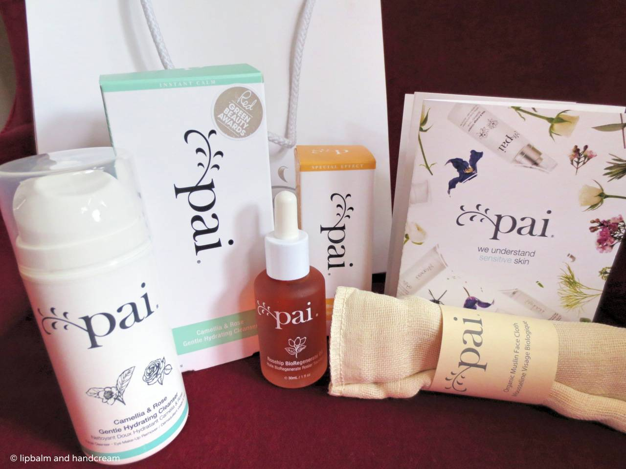 Pai haul from the talk with the founder, Sarah Brown