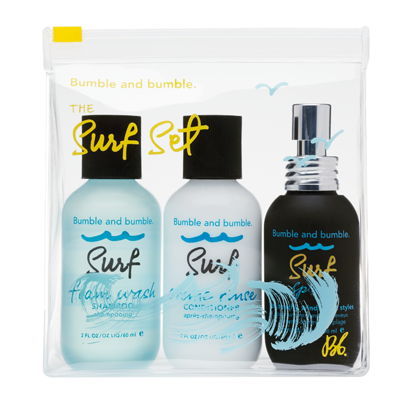 Bumble and bumble surf travel set