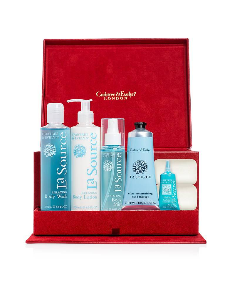 Crabtree & evelyn la source luxury gift set