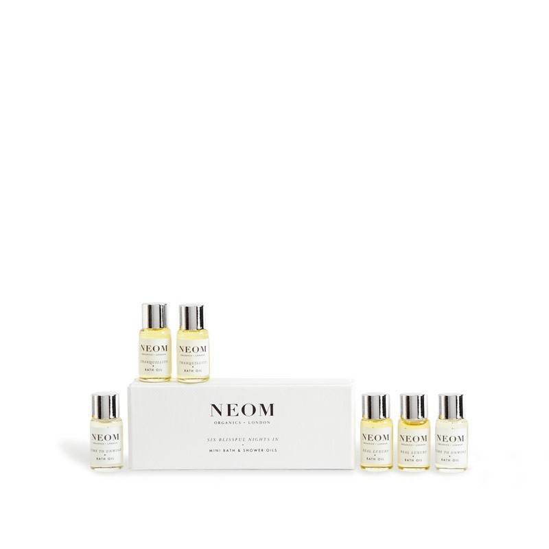 Neom organics six blissful nights bath & shower oil