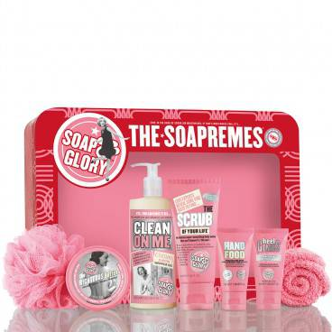 Soap & Glory soapremes gift set