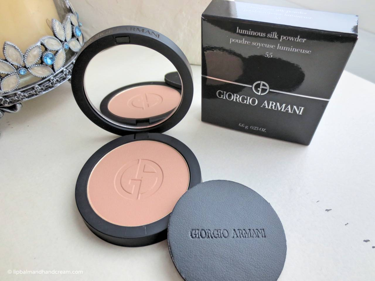 Giorgio Armani luminous silk powder in 5.5.