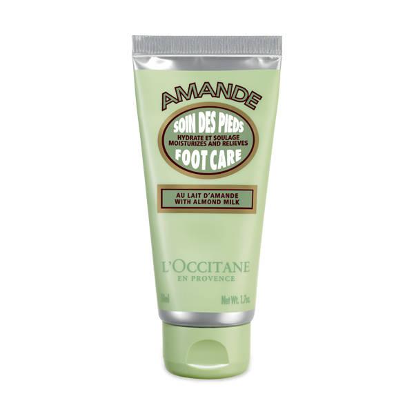 L'Occitane almond foot cream