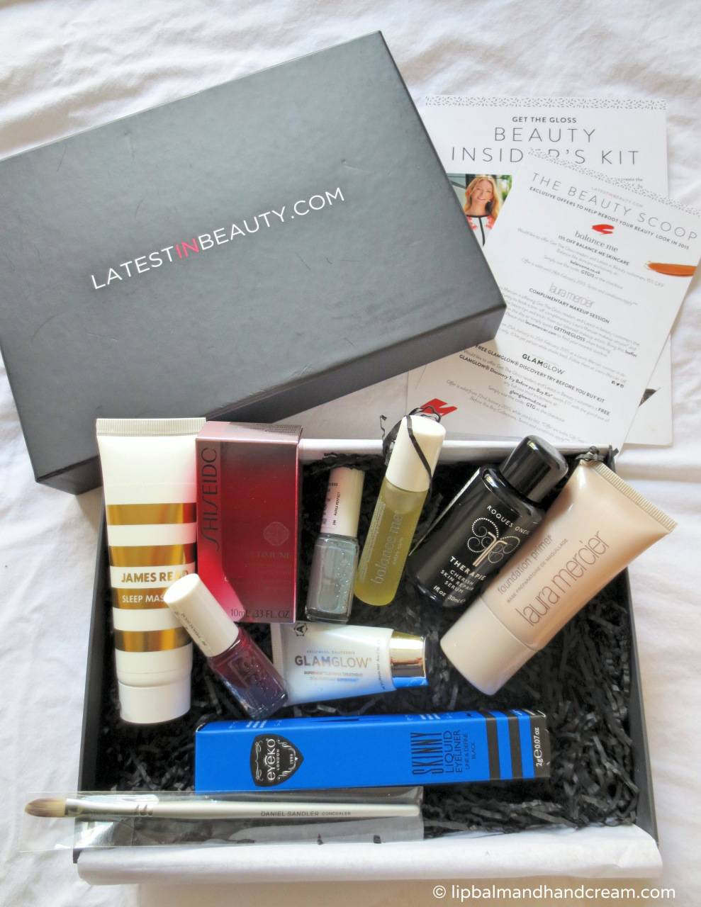 Latest in Beauty box from Get the Gloss