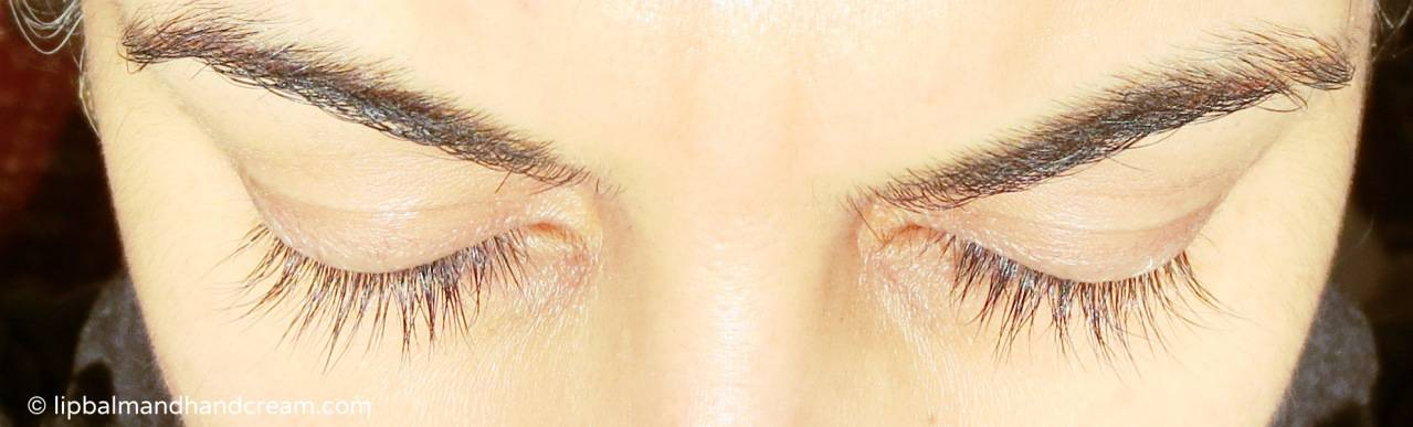 Healthy lashes