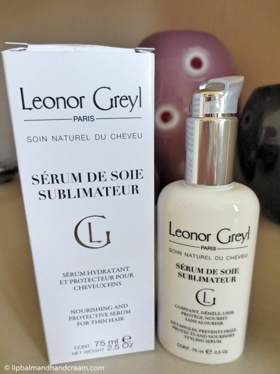 Fighting the frizz – Leonor Greyl's sérum de soie sublimateur creates silky hair