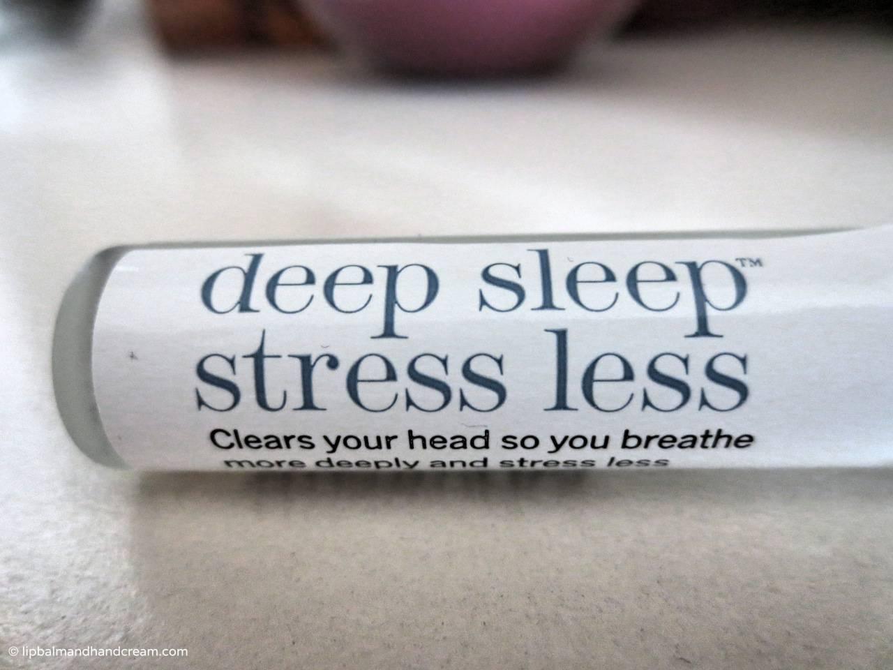 this works deep sleep stress less