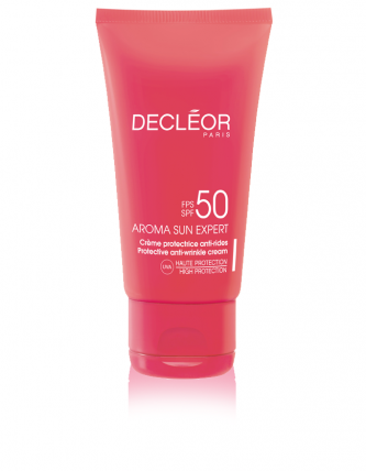 Decléor aroma sun expert – protective anti-wrinkle cream SPF 50