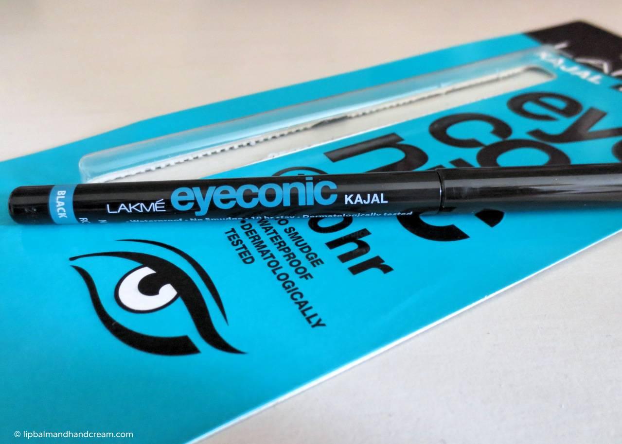 Lakmé eyeconic kajal - eyeliner in black