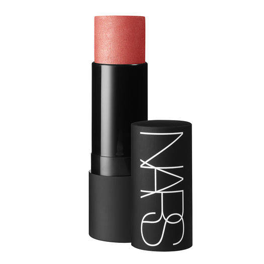 NARS multiple is my go-to for blush. Powder blushes end up looking obvious