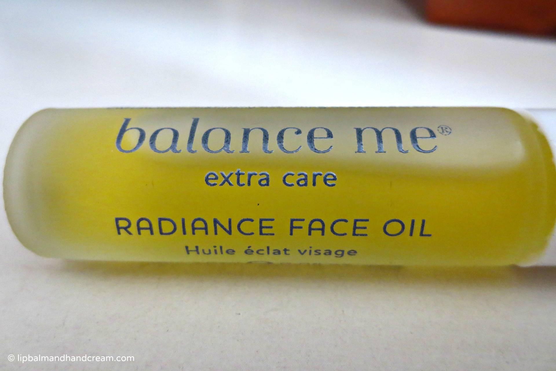 Balance me radiance oil