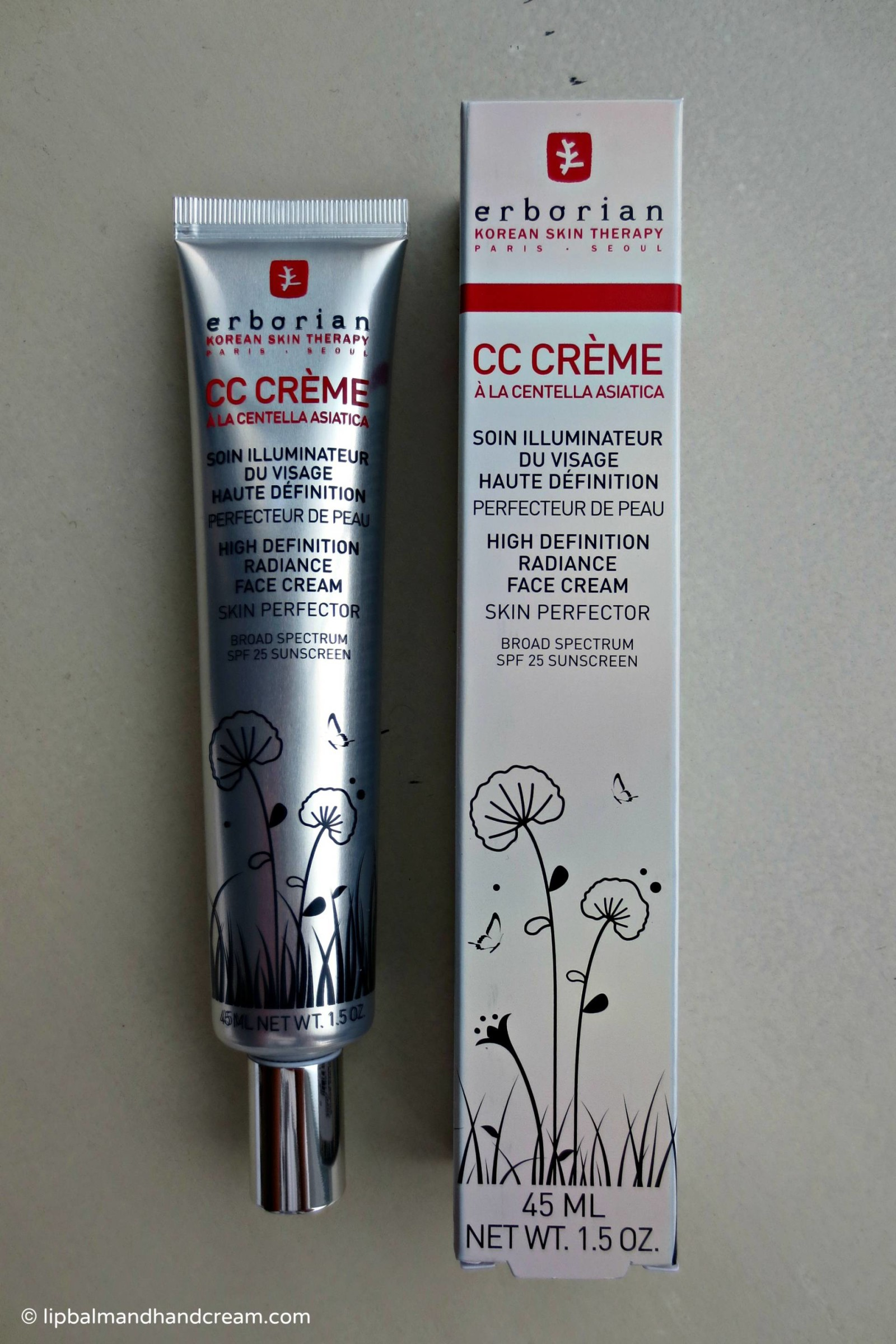 Erborian CC HD crème – a radiance cream that doubles up as a primer for me