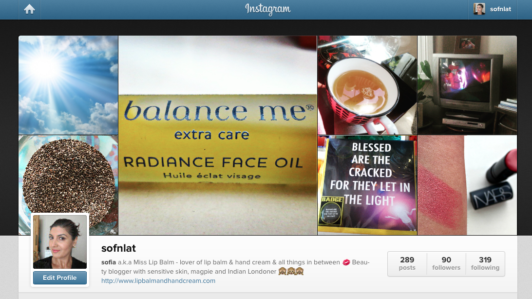 Some of my favourite beauty instagram accounts to follow and be inspired by