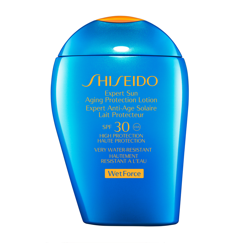 Shiseido wet force sun cream