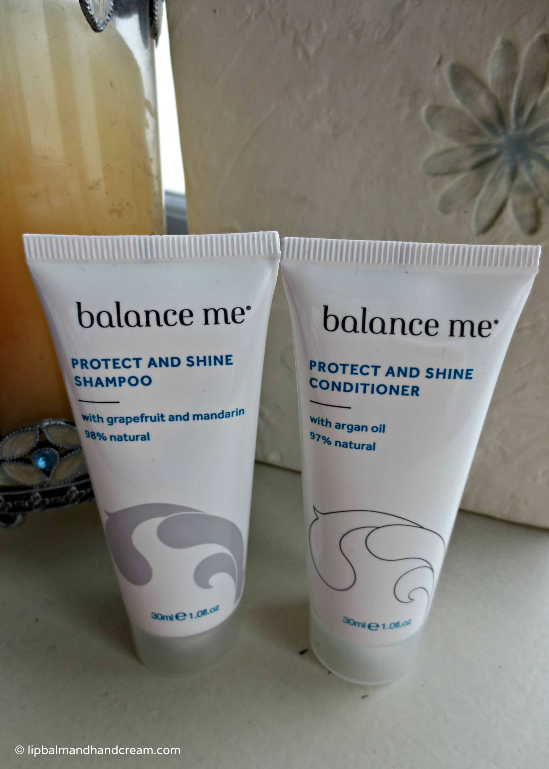 Balance me protect & shone shampoo & conditioner