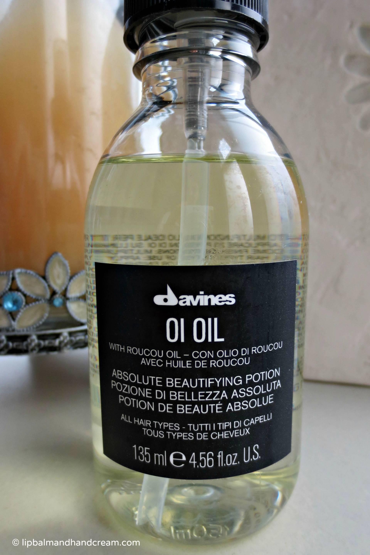 Davines OI oil for hair