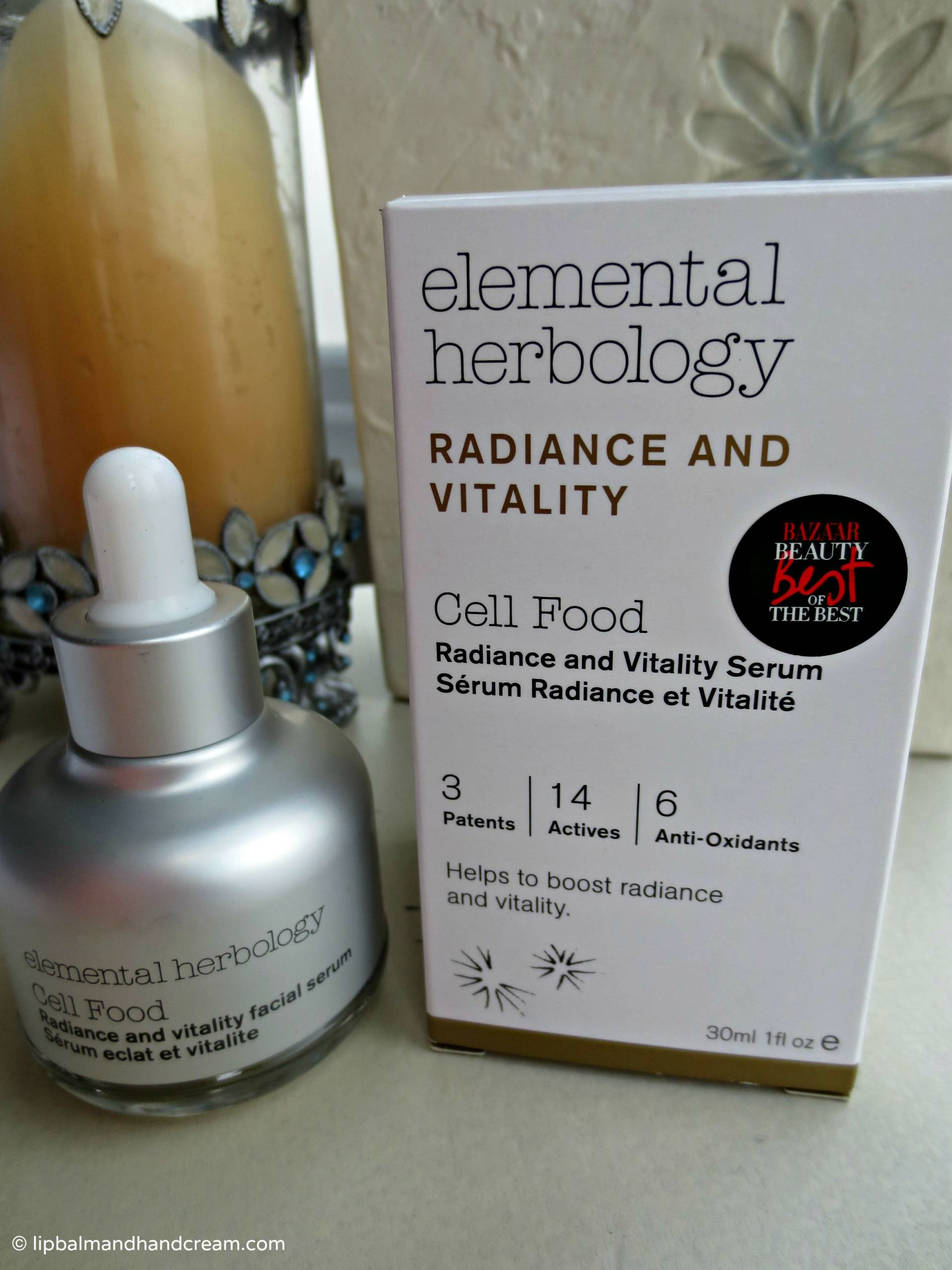 elemental herbology cell food - radiance & vitality serum