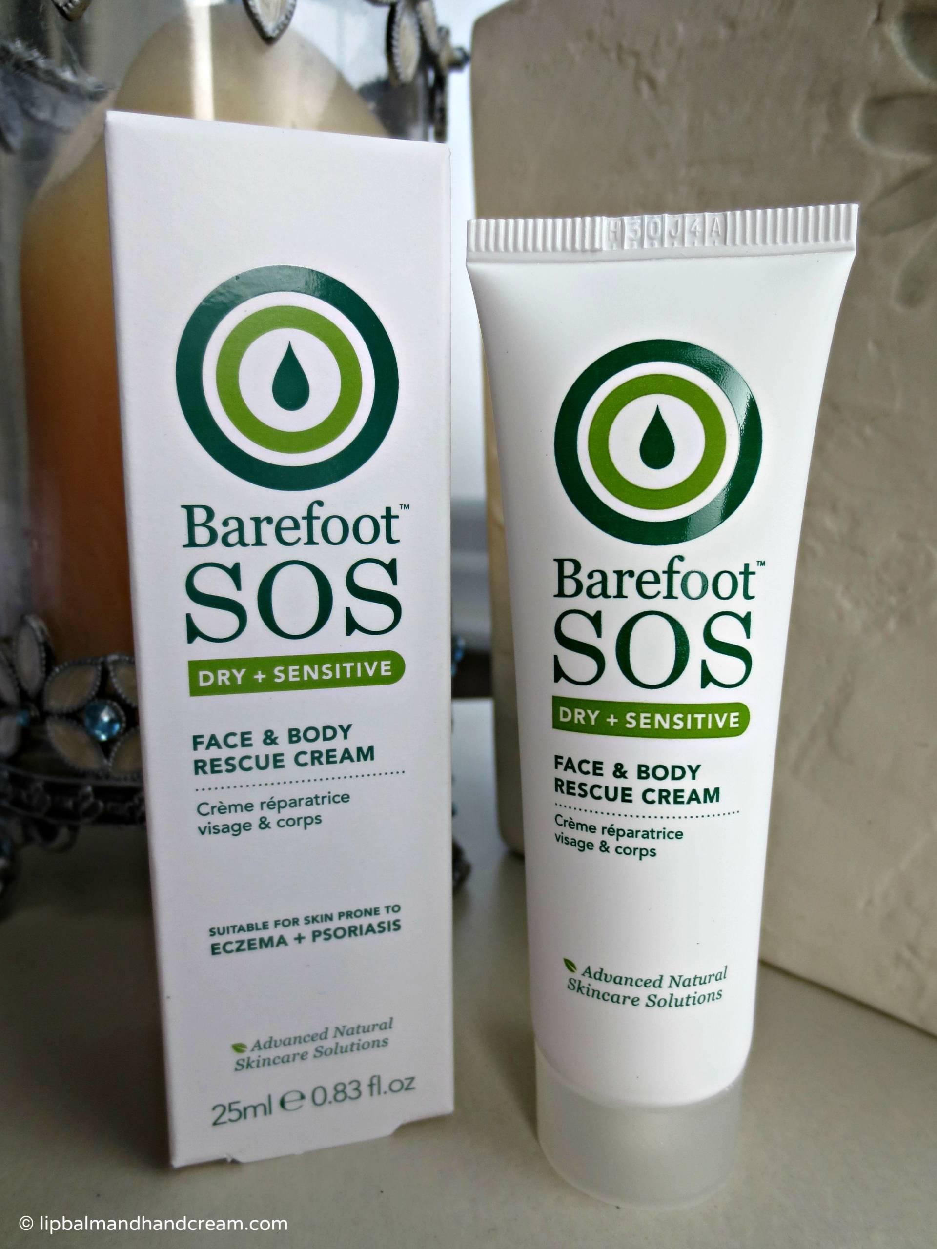 Barefoot sos face & body rescue cream