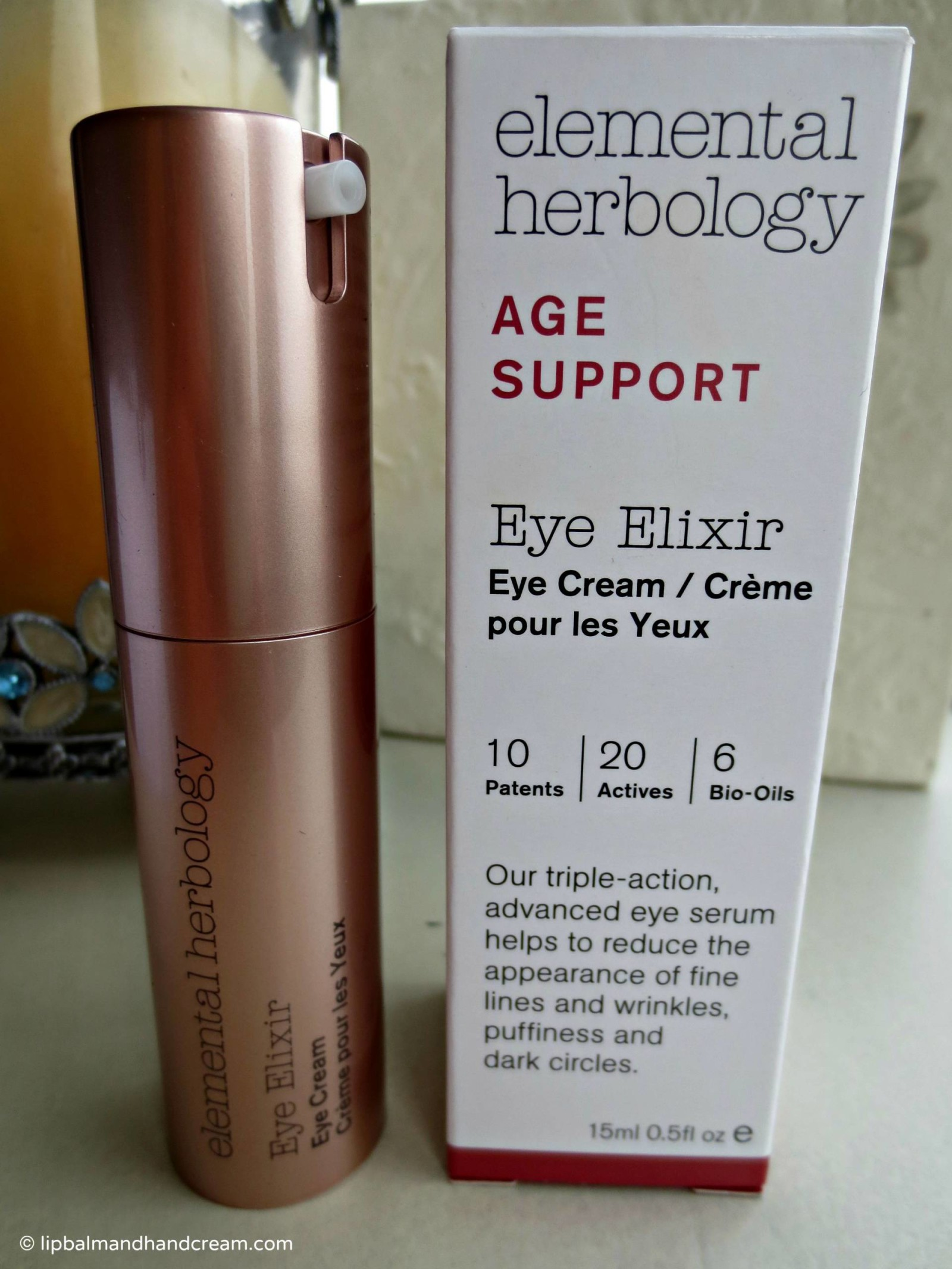 Elemental herbology eye elixir (eye cream to you and I)