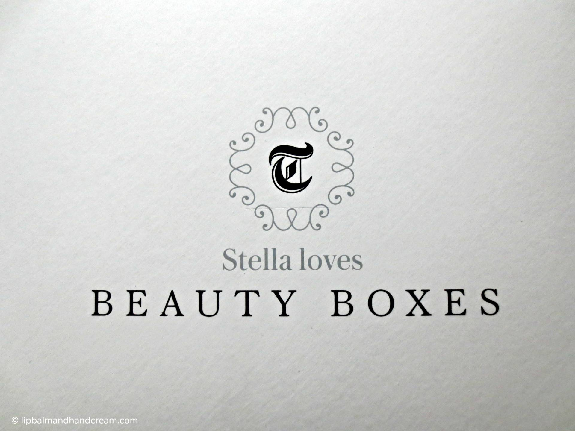 Stella loves beauty box