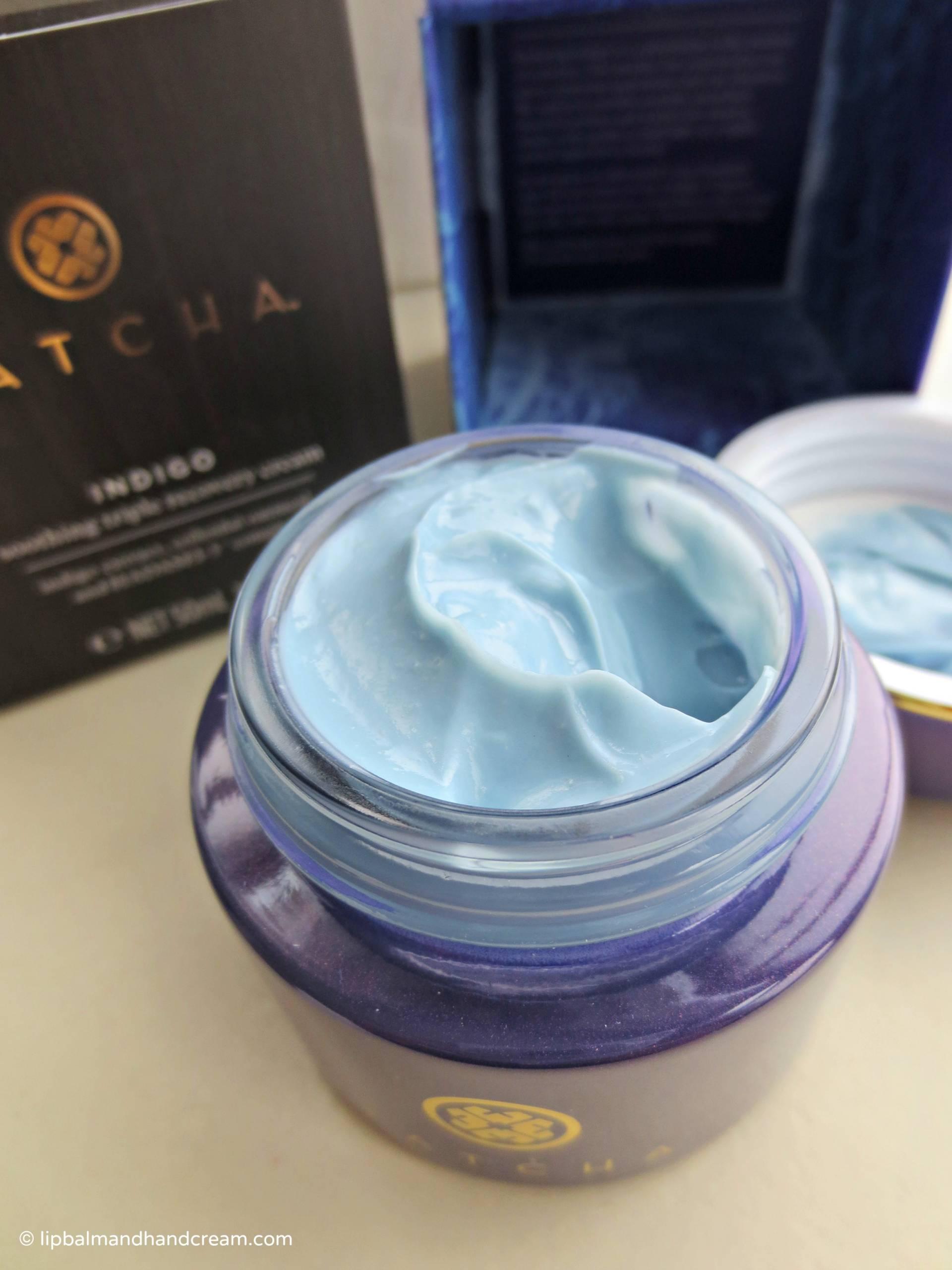 Tatcha indigo soothing triple recovery cream