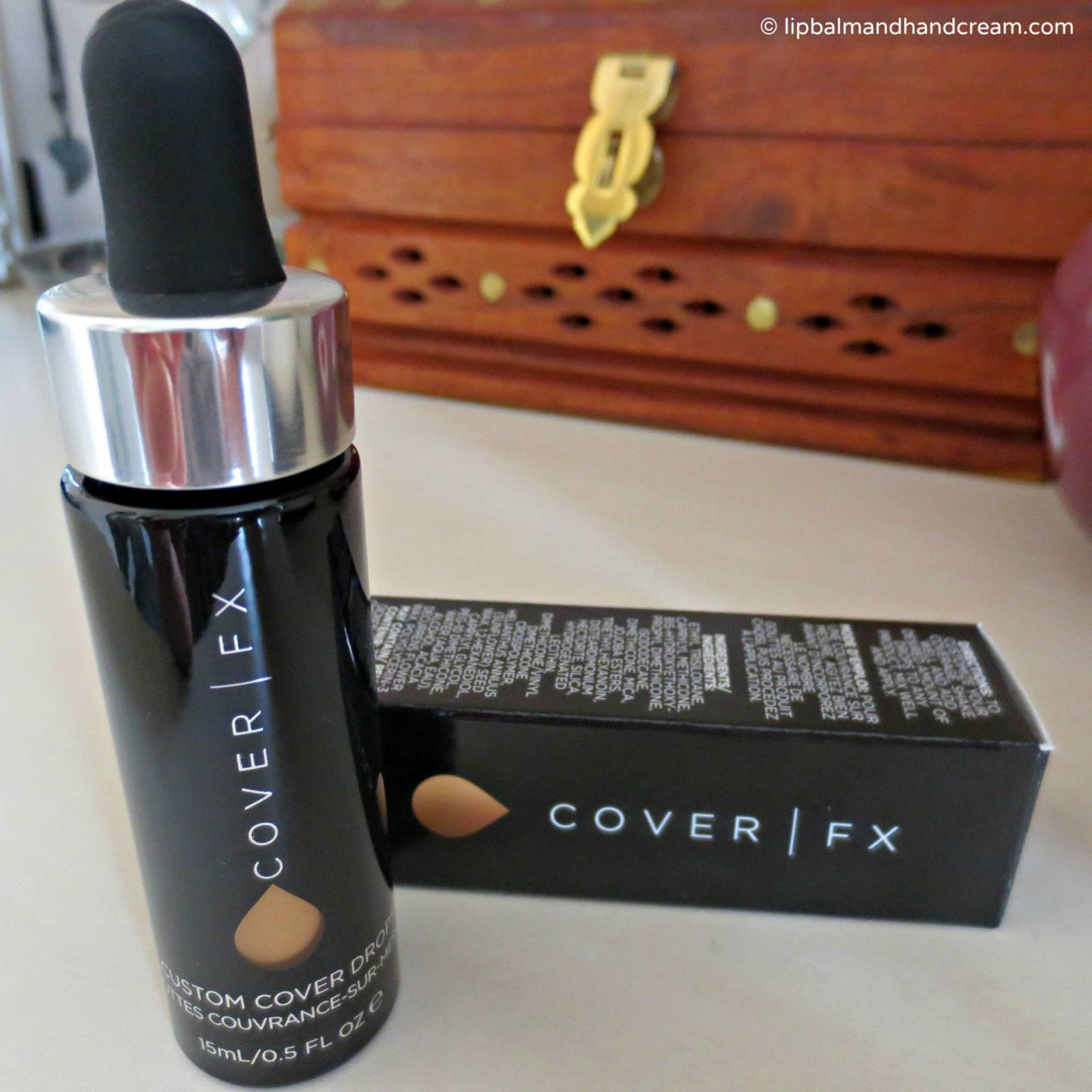 Blend your own foundation, BB or CC cream with Cover FX custom cover drops