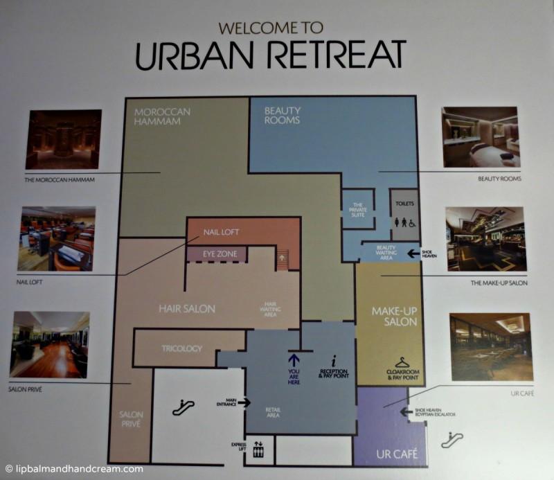 Urban retreat Harrods