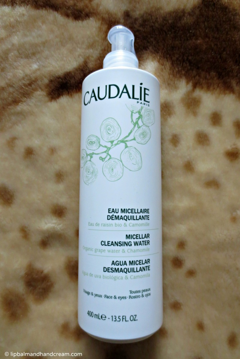 Caudalie micellar cleansing water for great skin