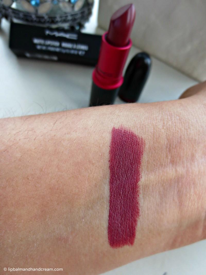 MAC viva glam 3 matte lipstick