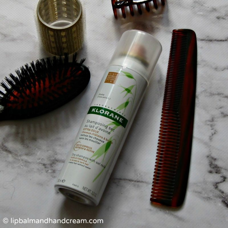 Klorane dry shampoo – tinted for brown to dark hair