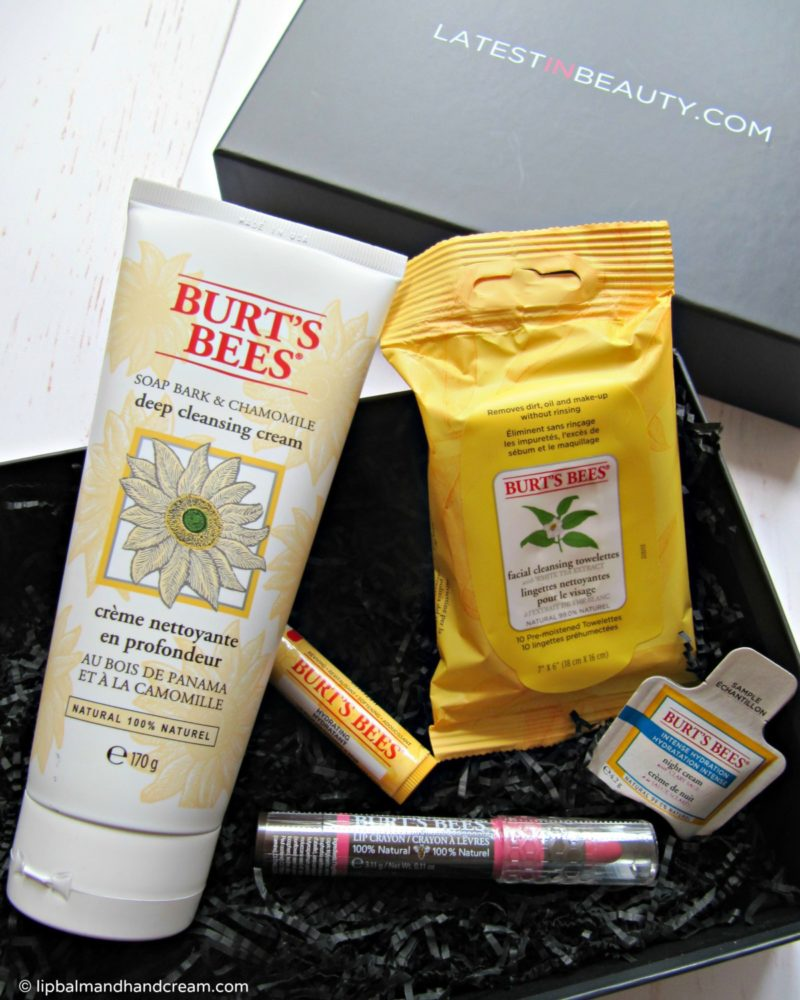 Latest in Beauty Burt's Bees collection