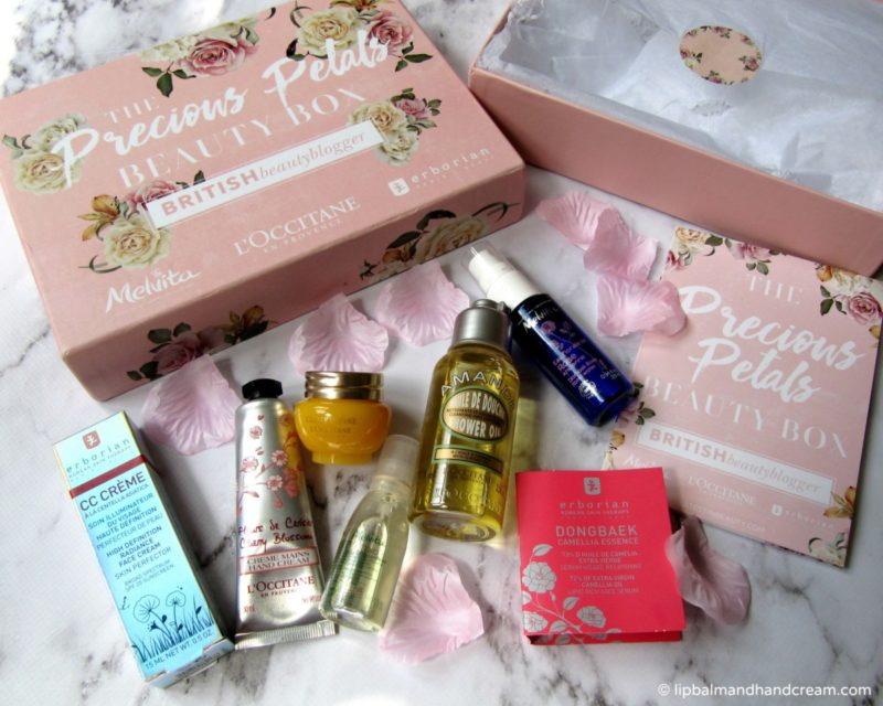 Precious Petals beauty box British Beauty Blogger This is Beauty