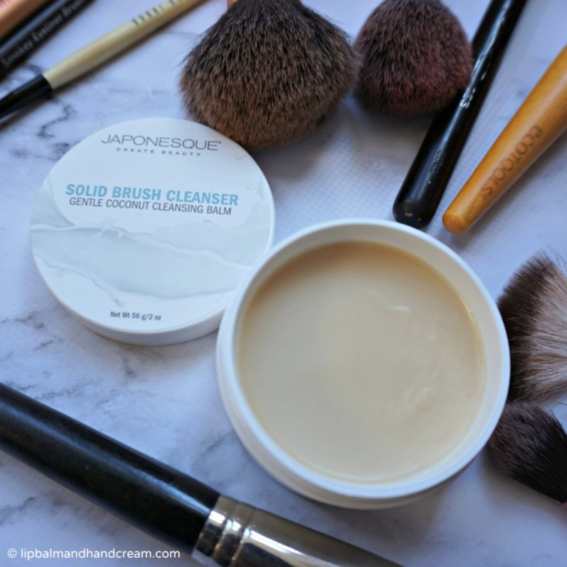 japonesque brush cleanser