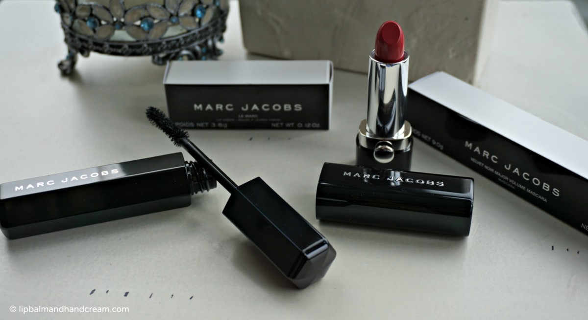 Marc Jacobs Beauty – lipstick and mascara is all a girl needs