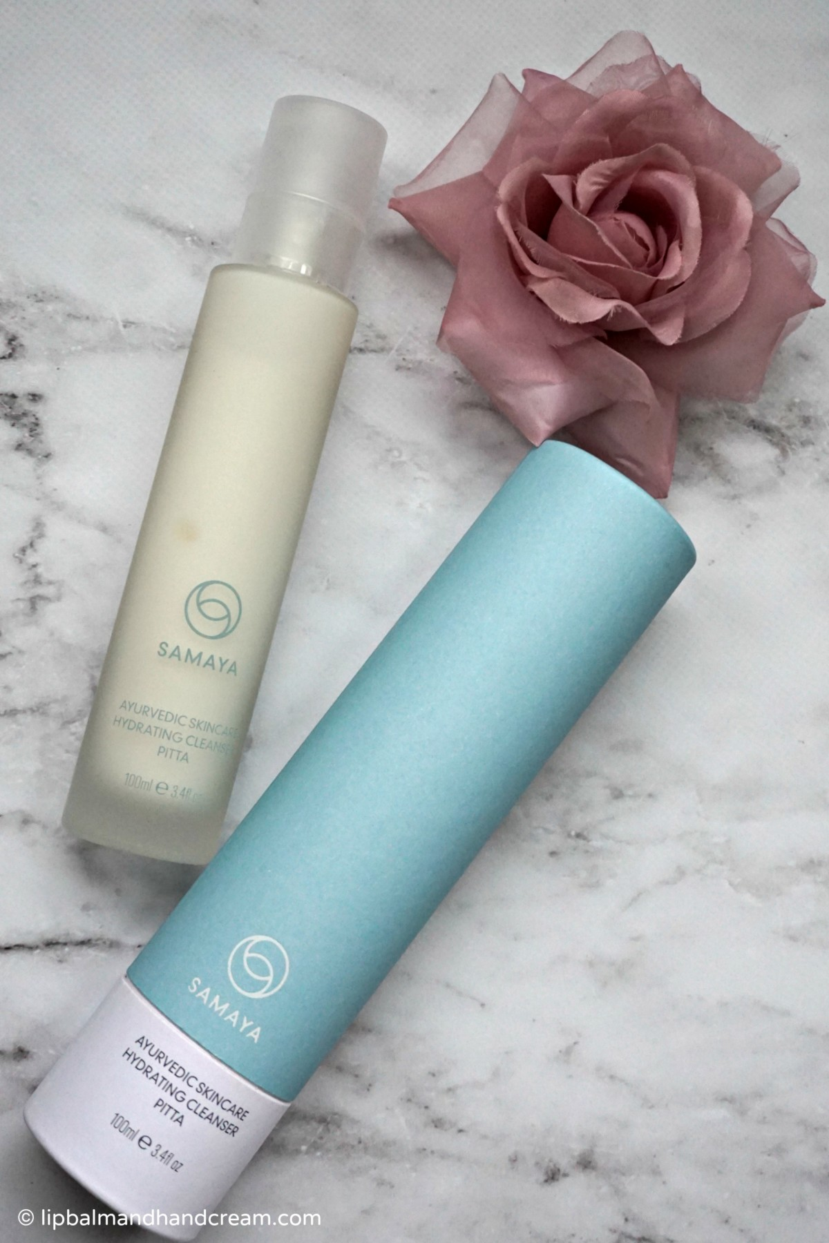 Samaya pitta hydrating cleanser and face mask – a much needed skincare boost this busy month