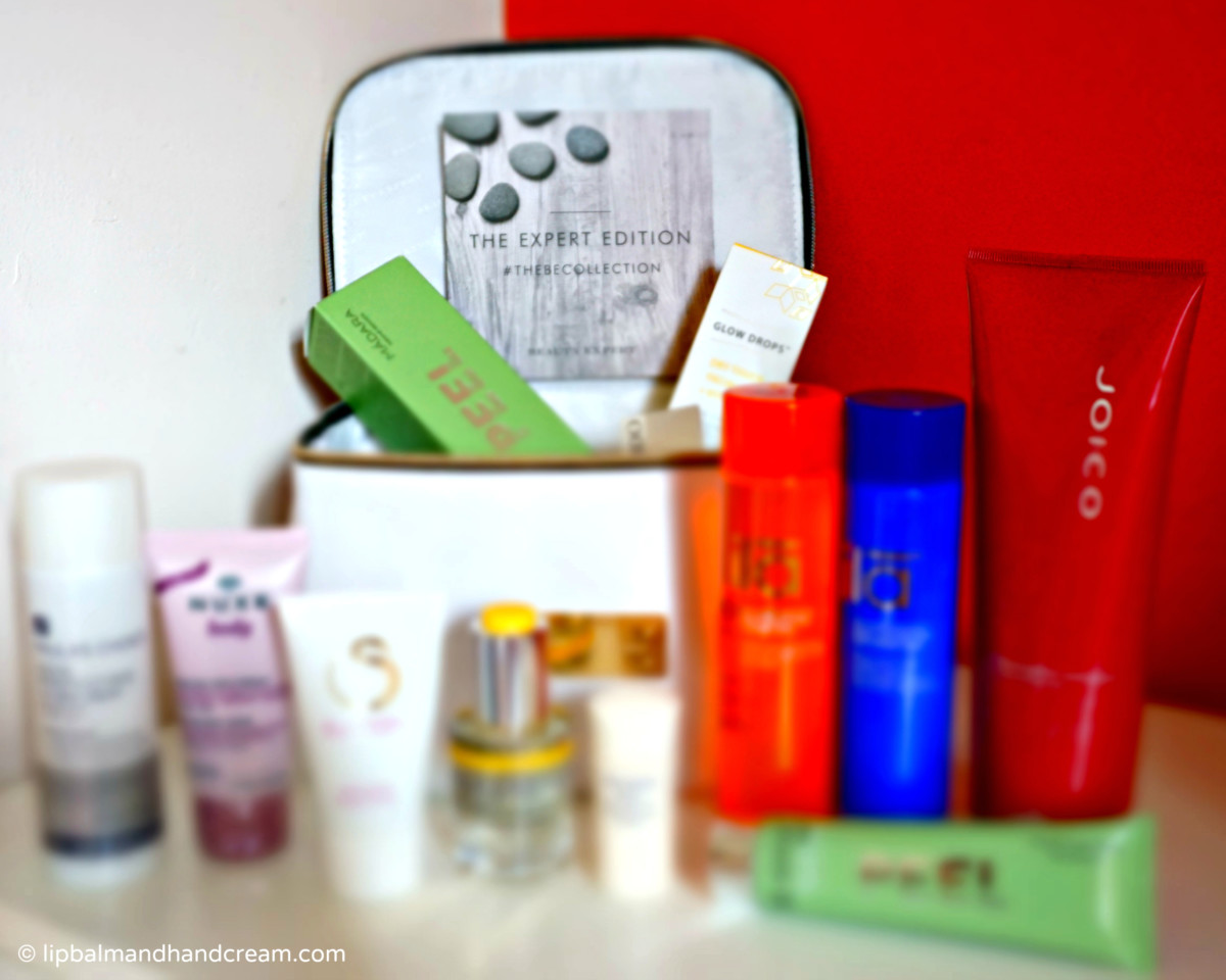 Beauty Expert collection beauty box – my first beauty box this year