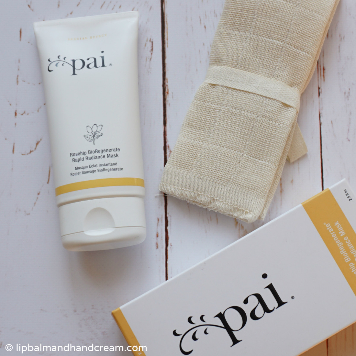 Pai's rapid radiance mask with their hero rosehip bioregenerate oil